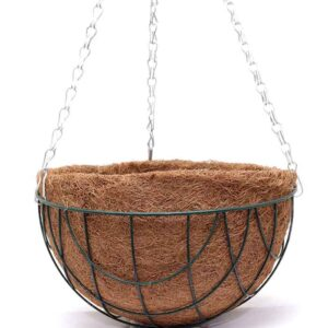 Hanging baskets 25cm 2 pack