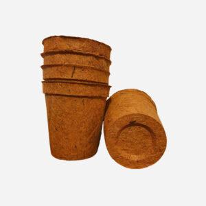 Coir pots 17cm 10 pack