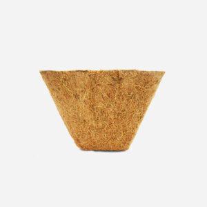 Coir square pots 10cm 10 pack