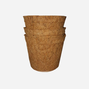 Coir pots 13cm 10 pack
